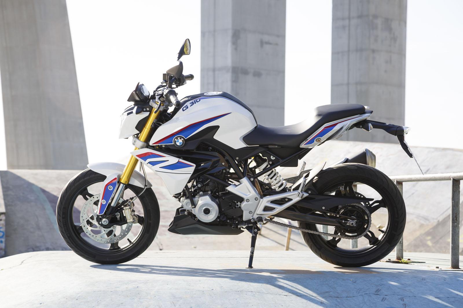 Ein Zylinder, geringes Gewicht, kraftvolle Dynamik: BMW G 310 R.